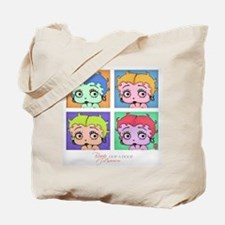 Betty Boop Pop Art Tote Bag