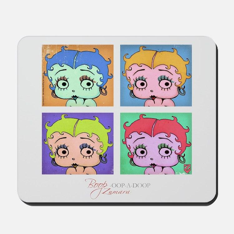 Betty Boop Pop Art Mousepad