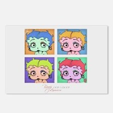 Betty Boop Pop Art Postcards (Package of 8)