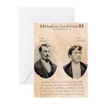 Death in Tombstone Greeting Cards (Pk of 20)