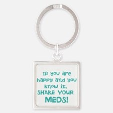 Happy Meds Keychains