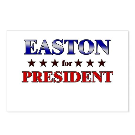 EASTON for president Postcards (Package of 8)