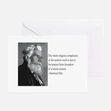 Ellis Quote Greeting Cards (Pk of 20)