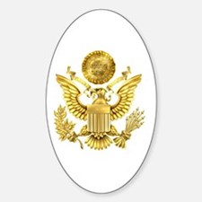 Presidential Seal, The White House Sticker (Oval)