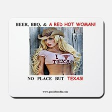 Welcome to Texas! #884 Mousepad