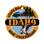 Idaho State Parks & Recreatio Ornament (Round)
