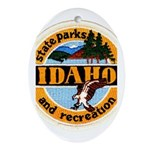 Idaho State Parks & Recreatio Oval Ornament