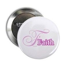 "Faith 2.25"" Button"