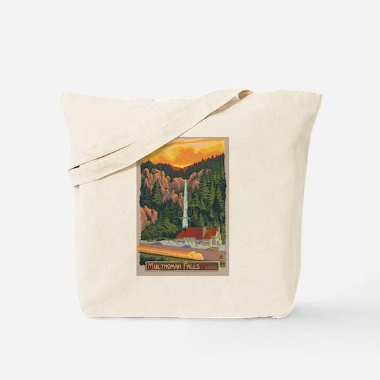 Multnomah Falls, Oregon Tote Bag