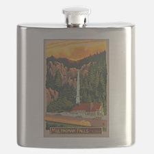 Multnomah Falls, Oregon Flask