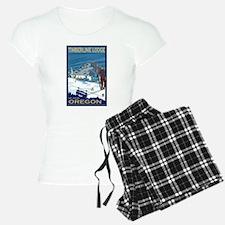 Mt Hood, Oregon - Timberline Lodge Pajamas