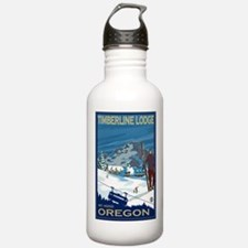 Mt Hood, Oregon - Timberline Lodge Water Bottle