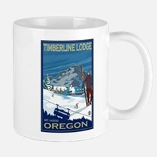 Mt Hood, Oregon - Timberline Lodge Mugs