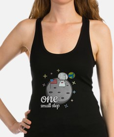 One small step Racerback Tank Top