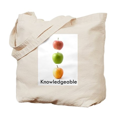 Knowledgeable Tote Bag