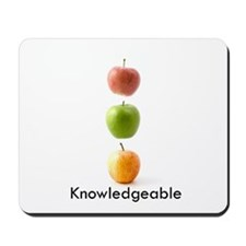 Knowledgeable Mousepad