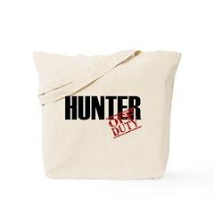 Off Duty Hunter Tote Bag