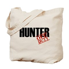 Off Duty Hunter Tote Bag