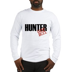 Off Duty Hunter Long Sleeve T-Shirt
