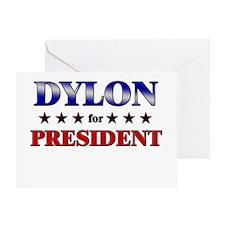 DYLON for president Greeting Card