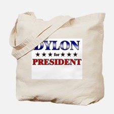 DYLON for president Tote Bag