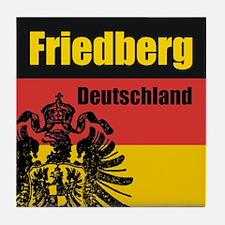 Friedberg Tile Coaster
