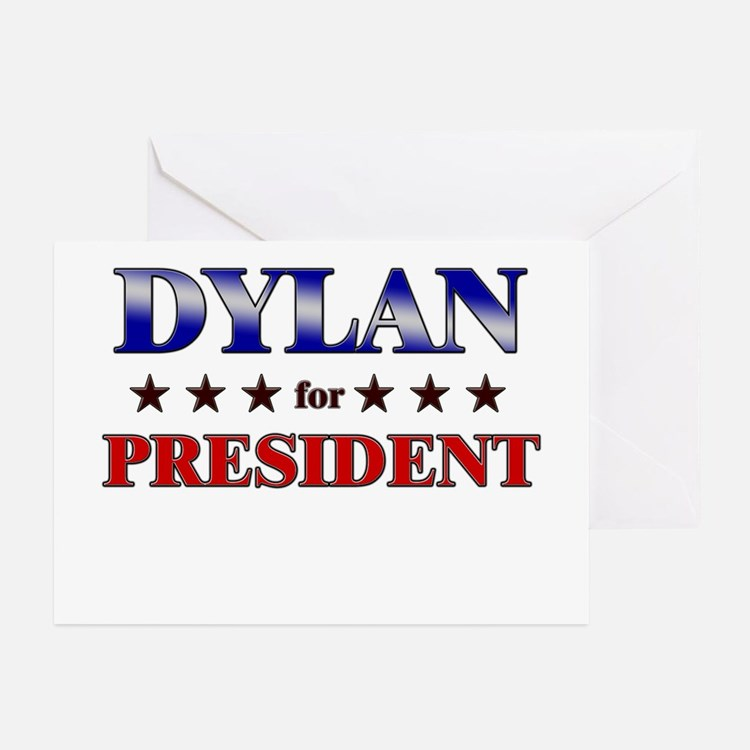 DYLAN for president Greeting Cards (Pk of 10)