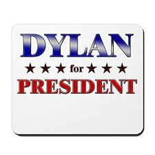 DYLAN for president Mousepad