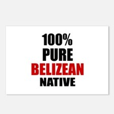 100 % Pure Belizean Nativ Postcards (Package of 8)