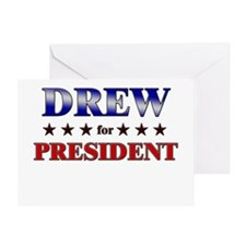 DREW for president Greeting Card