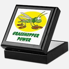 Grasshopper Power Keepsake Box