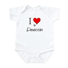 I Love My Deacon Infant Bodysuit