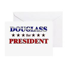 DOUGLASS for president Greeting Card