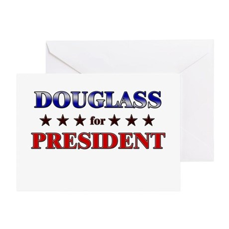 DOUGLASS for president Greeting Card
