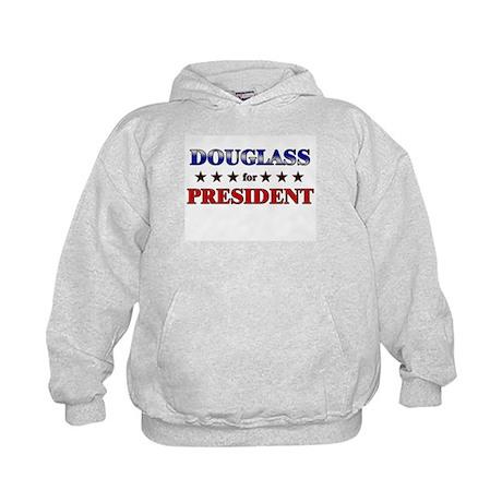 DOUGLASS for president Kids Hoodie