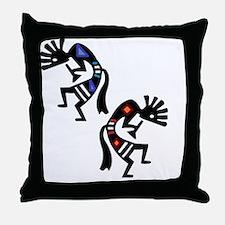 Cute Utah utes Throw Pillow