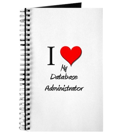 I Love My Database Administrator Journal