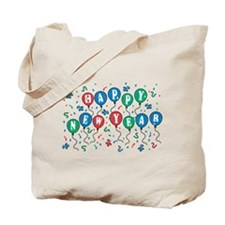 Happy New Year (Balloons) Tote Bag