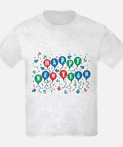 Happy New Year (Balloons) T-Shirt