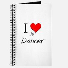 I Love My Dancer Journal