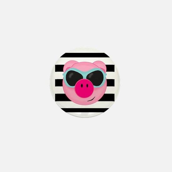 Summertime Pig Mini Button