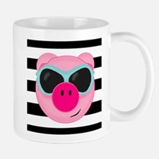 Summertime Pig Mugs