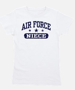 Cute Air force family and Girl's Tee