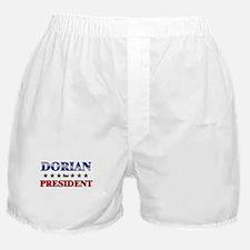 DORIAN for president Boxer Shorts