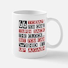 66 Turn Back Birthday Designs Mug