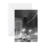 Empire State Building Greeting Cards (6)