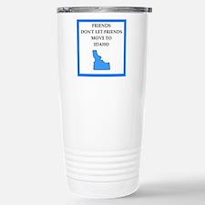 i hate this state Travel Mug