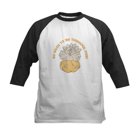SO MUCH TO BE THANKFUL FOR! Kids Baseball Jersey