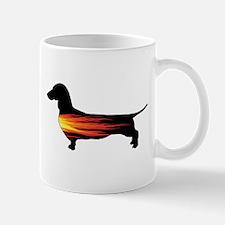 Dachshund Hot Dog Mugs