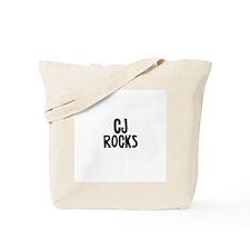 CJ Rocks Tote Bag